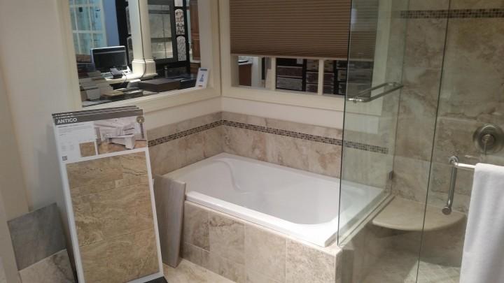 Built-in-tub-frameless-shower-raleigh