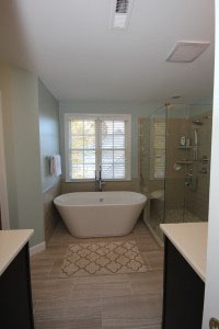 Bathroom Remodeling Raleigh raleigh bathroom remodeling experts - portofino tile