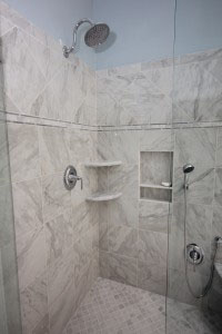 Custom Bathroom Design Raleigh