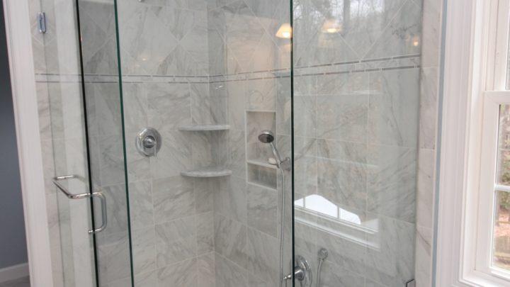 Apex Top Shower Remodel