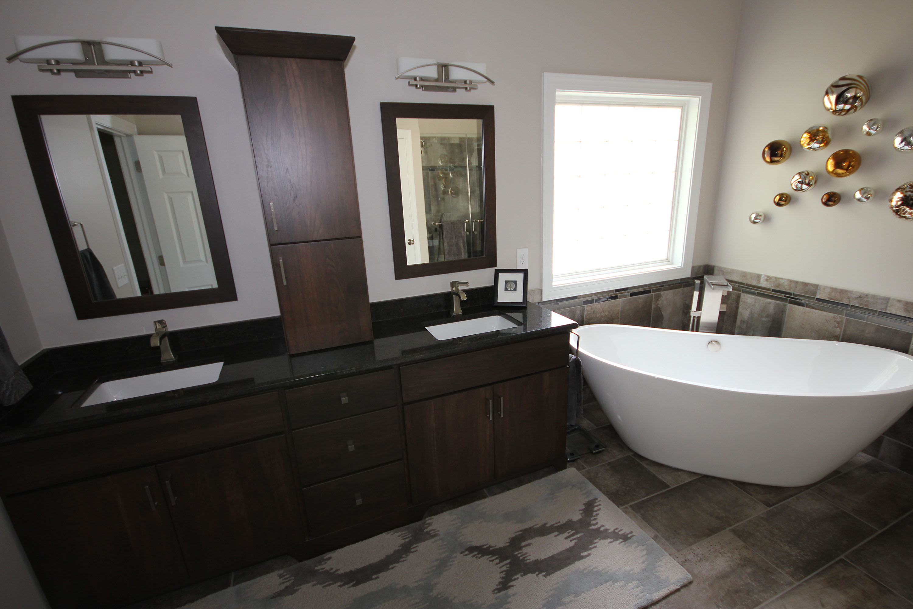 Freestanding Bathtubs by Cary Bathroom Remodeling -Portofino Tile