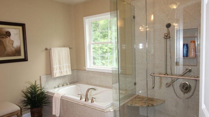 Built in Tub Raleigh Bathroom