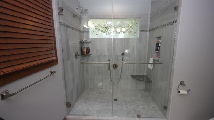 Frameless Shower Raleigh
