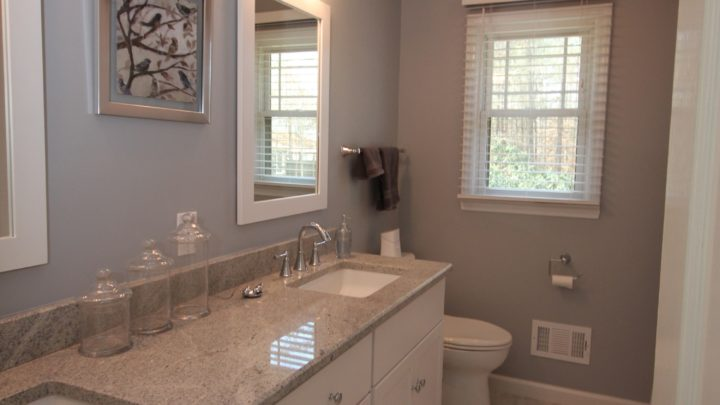 Light Bathroom Cabinets in Apex  NC