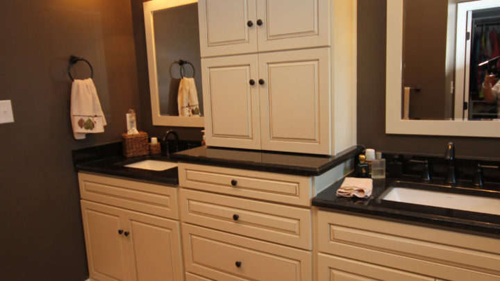 Raleigh Light Bathroom Cabinets
