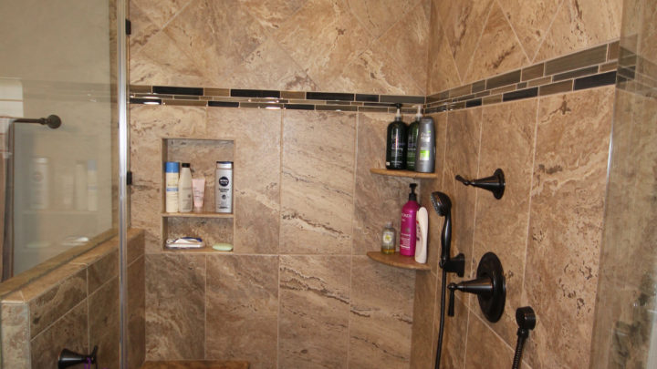 Raleigh Top Shower Remodel