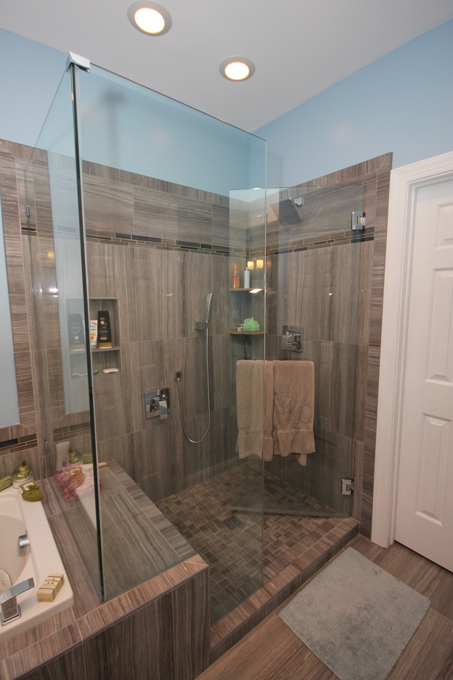 Bathroom Remodel Apex Nc : Custom designed showers bath remodeling center cary nc