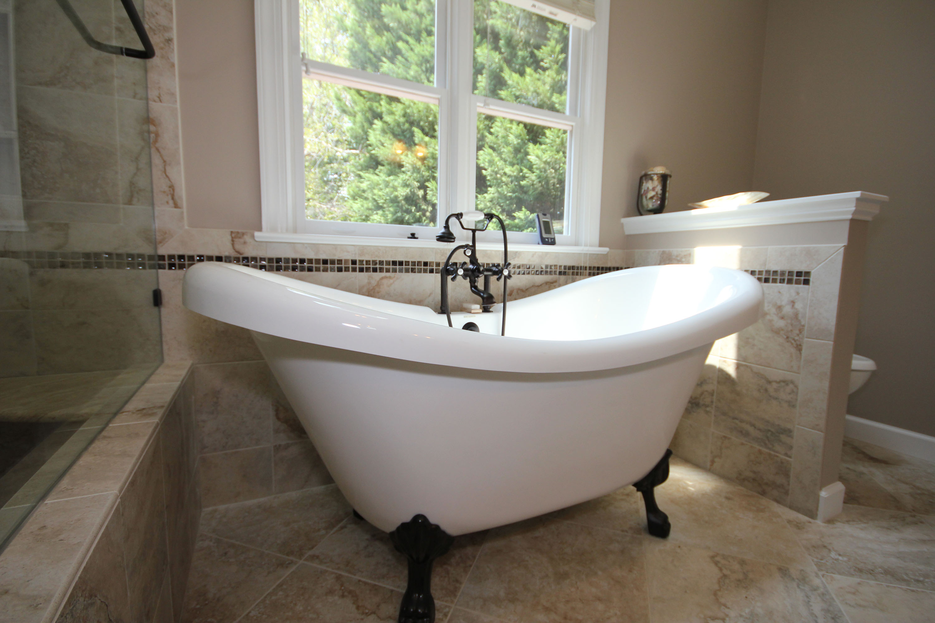 Freestanding Bathtubs By Cary Bathroom Remodeling Portofino Tile - Bathroom remodel raleigh