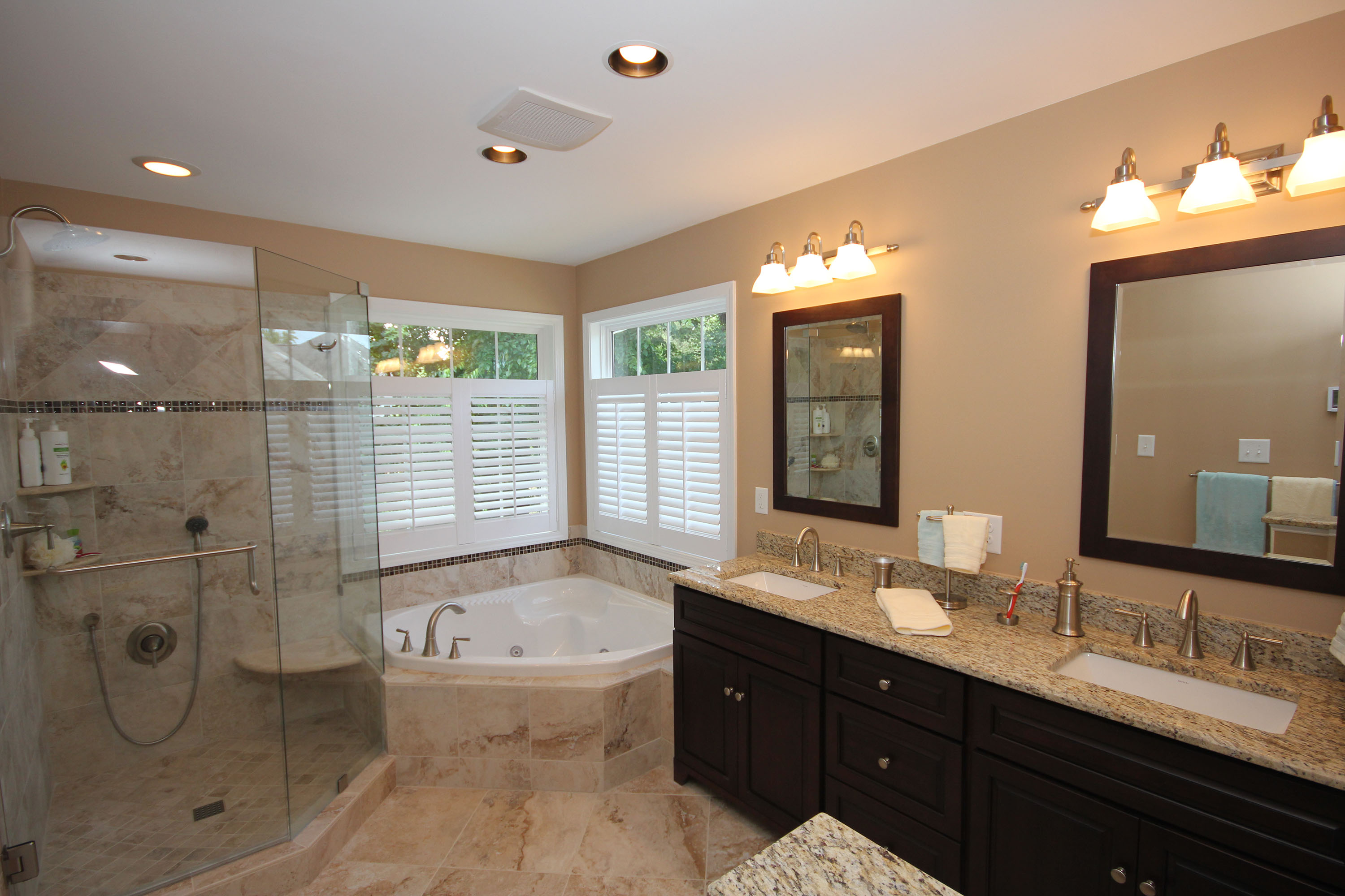 Bathroom Remodeling Raleigh Dark Bath Cabinetsthe Bath Remodeling Center Llc