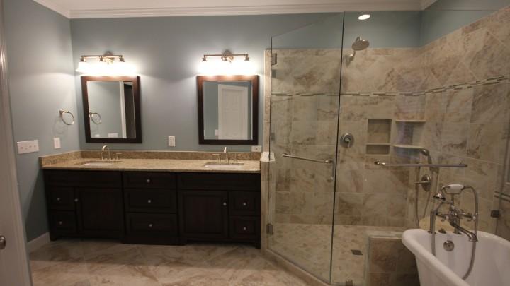 frameless-shower-bath-remodel-raleigh