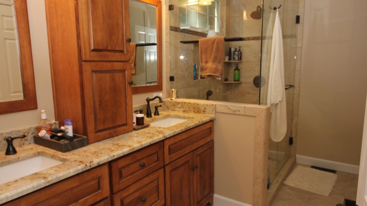 light-wood-bath-cabinets-cary