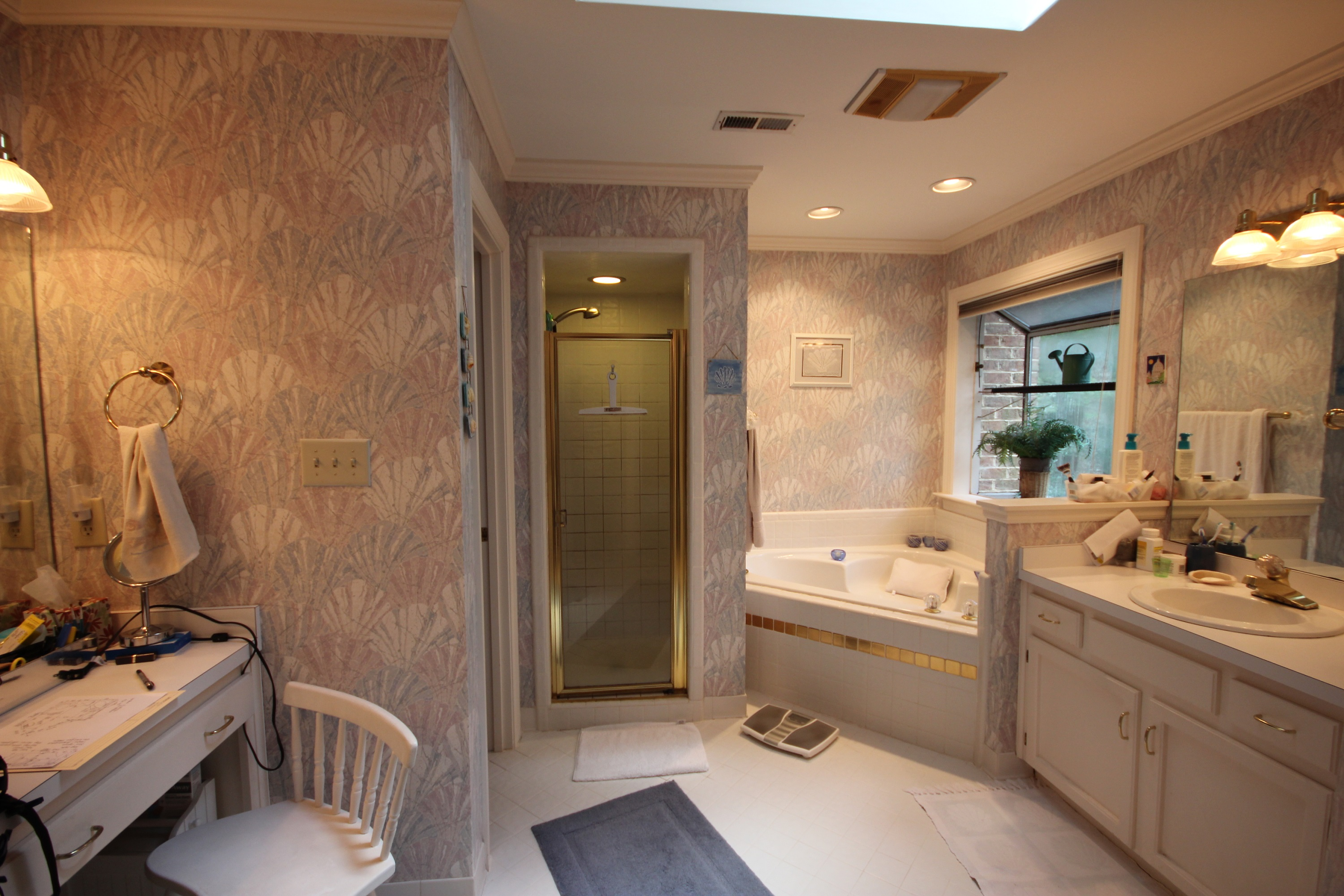 Bathroom Remodeling Cary Nc Design before & after bathroom remodeling images - portofino tile of cary nc